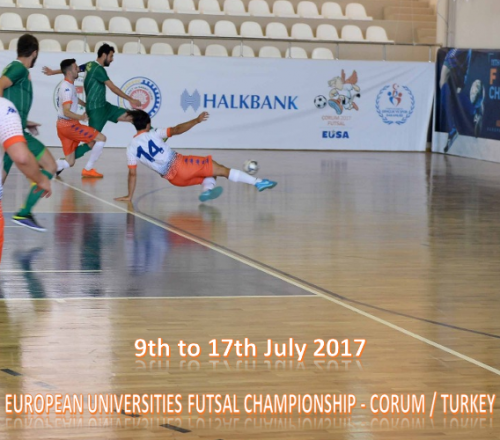 European Universities Futsal Championship First Day