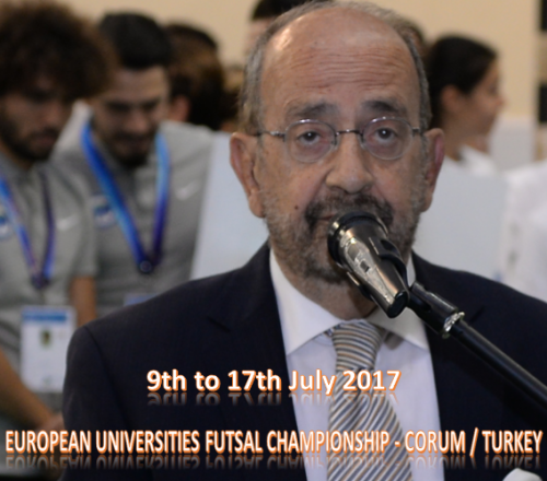 European Universities Futsal Championship Opening Ceremony